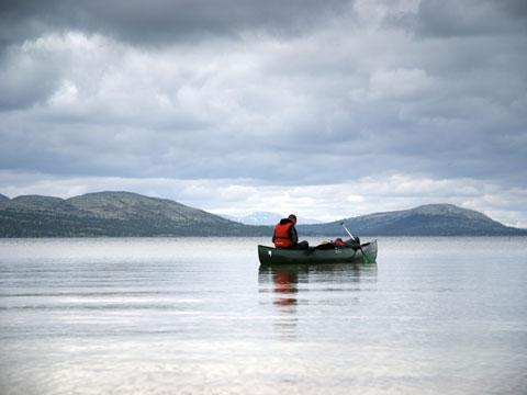 water canoe tours sweden rogen wilderness expedition tscs