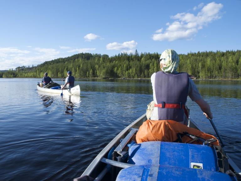 Canoe Photo Euan Turner